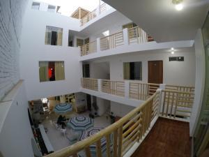 Balcon ou terrasse dans l'établissement Paracas Backpackers House