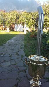 Патио или другая зона на открытом воздухе в Гостевой дом на Михалях