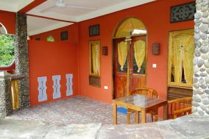 The lobby or reception area at Hotel Orangutan