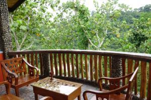 A balcony or terrace at Hotel Orangutan