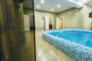 The swimming pool at or near Hotel Sokol