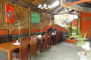 A restaurant or other place to eat at Hotel Orangutan