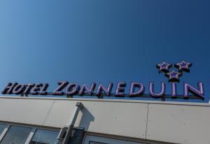 Een certificaat, prijs of ander document dat getoond wordt bij Hotel Zonneduin