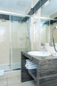 Łazienka w obiekcie Hotel Kalchem