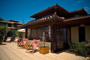 Uma varanda ou outra área externa em Casa Solar