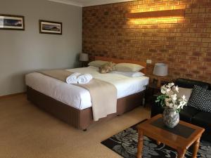 A room at Avoca Motel
