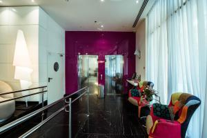 The lobby or reception area at Eyal Hotel by Smart Hotels