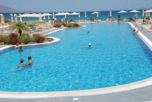 Het zwembad bij of vlak bij Zorbas Beach Hotel