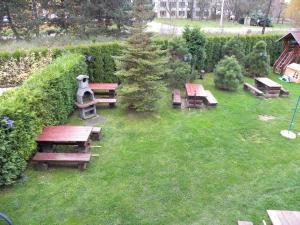 Vonkajšia záhrada v ubytovaní Penzion Relax