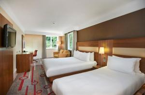 A room at DoubleTree by Hilton Newbury North