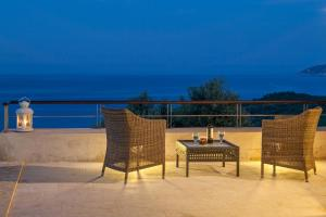 A porch or other outdoor area at Olivia's Villas of Luxury