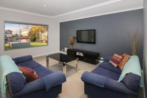 A seating area at Geographe House