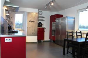 Küche/Küchenzeile in der Unterkunft Rooftop Apartment