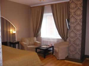 Гостиная зона в Отель «На Ленинском »