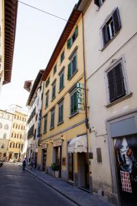 The facade or entrance of Hotel Nizza