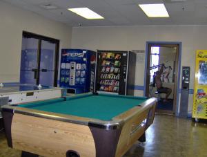 A pool table at Islander Beach Resort - New Smyrna Beach