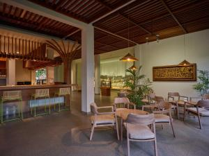De lounge of bar bij Jiwa Jawa Resort Ijen