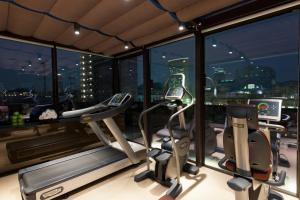 Salle ou équipements de sports de l'établissement Starhotels Echo