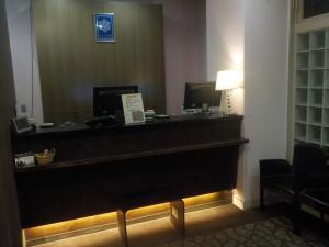 The lobby or reception area at Hotel Terrace Yokohama