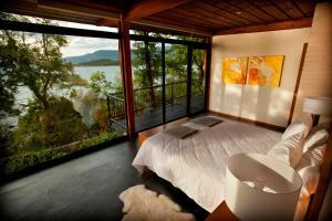 Una habitación en Hotel Antumalal
