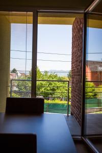 Výhľad z apartmánu