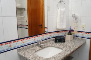 Um banheiro em Morada do Mar Hotel