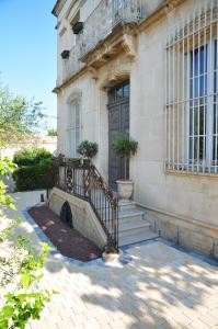 Een patio of ander buitengedeelte van Maison Matisse