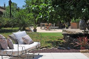 Een zitgedeelte bij Maison Matisse