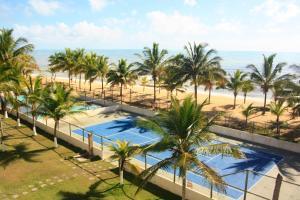 Uma vista da piscina em Mar & Sol Praia Hotel ou nos arredores