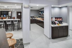 A restaurant or other place to eat at SpringHill Suites Milford