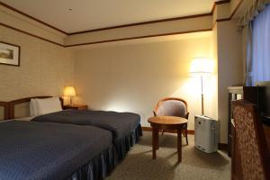 A room at Hotel Viamare Kobe