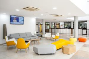 The lobby or reception area at Chatur Costa Caleta