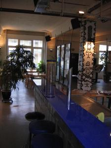The lounge or bar area at Hotel Transit Loft