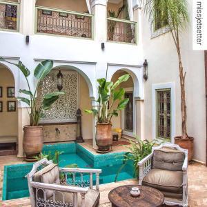 Terrasse ou espace extérieur de l'établissement Riad Palacio De Las Especias