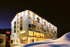 Hotel Steffisalp during the winter