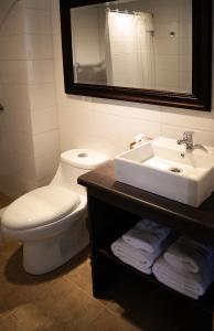 A bathroom at Apart Hotel Endurance