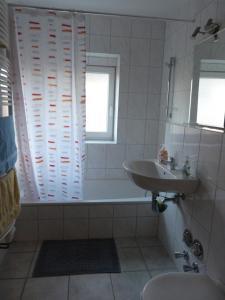 Ein Badezimmer in der Unterkunft Wohnung im Zentrum des Ruhrgebiets