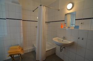 Ванная комната в Mezzaluna