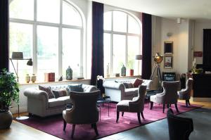 The lounge or bar area at Clarion Collection Hotel Bolinder Munktell