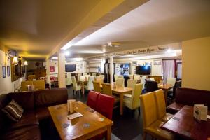 A restaurant or other place to eat at The Horse and Jockey