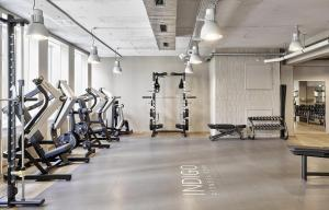 The fitness center and/or fitness facilities at Boutique Hotel Helvetia
