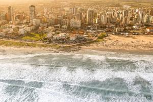 A bird's-eye view of Dunas Praia Hotel