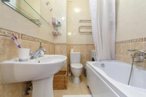 Ванная комната в Miracle Apartment Old Arbat