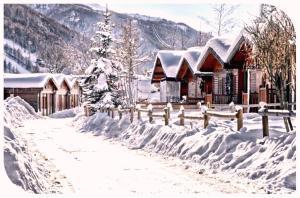 Villaggio Gofree during the winter