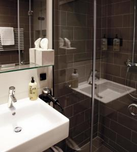 Ein Badezimmer in der Unterkunft Hotel Stadt Balingen