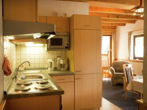 Küche/Küchenzeile in der Unterkunft Holiday home in Medebach with Balcony
