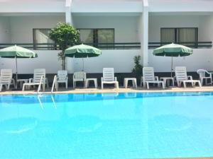 The swimming pool at or near Sirin Hotel Hua Hin
