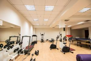 The fitness centre and/or fitness facilities at Nefeli Hotel