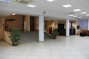 Лобби или стойка регистрации в Гостиница Регата