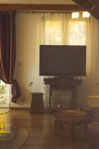 Telewizja i/lub zestaw kina domowego w obiekcie Dom Maciejówka